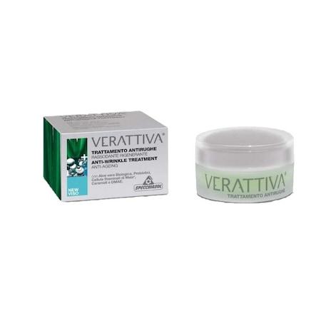 Verattiva Crema antirid de zi Aloe vera 50 ml